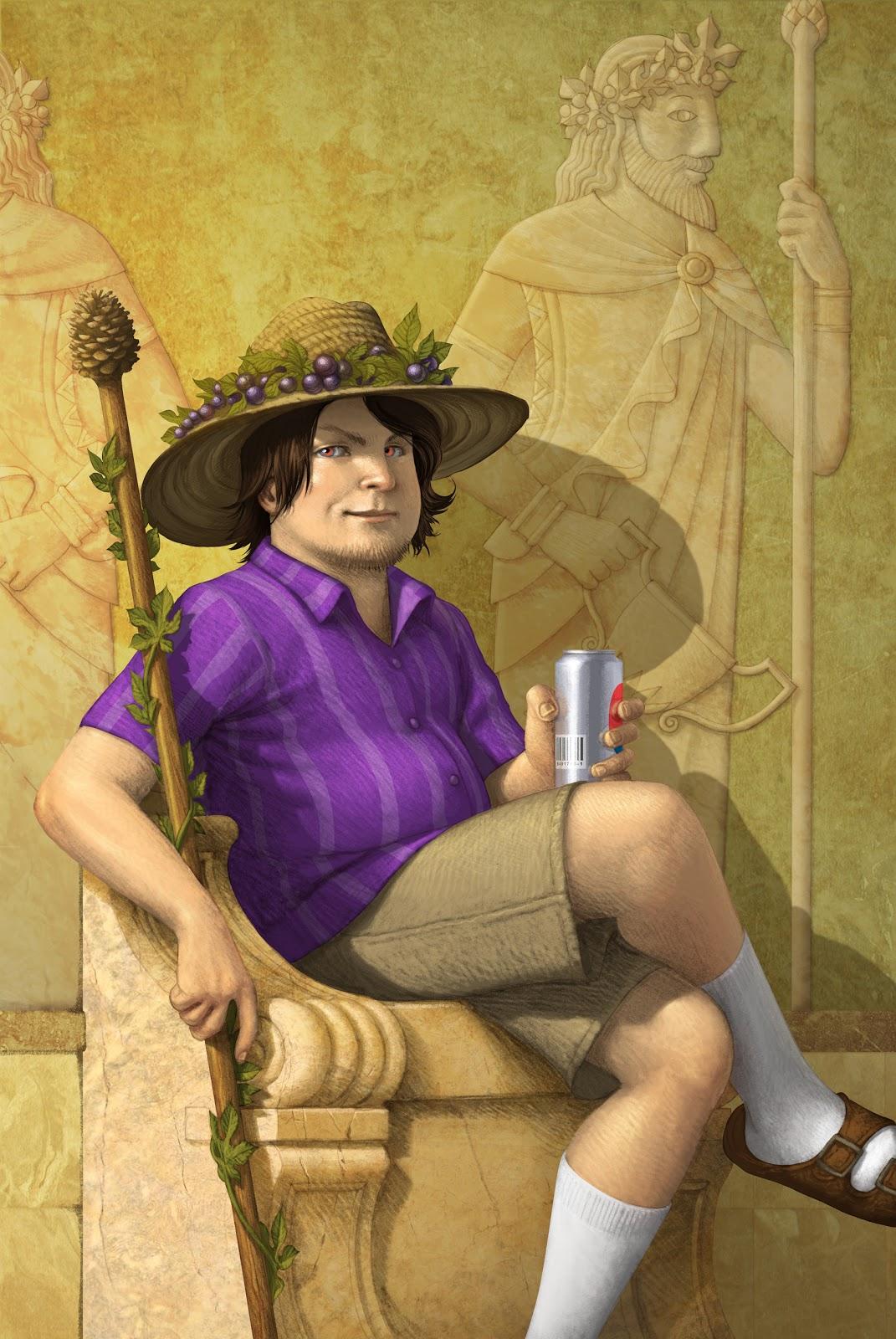 Myth & Mystery: God Alert! It's the Wine Dude!