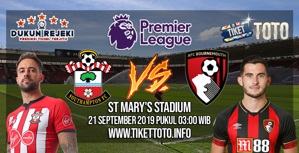 Prediksi Southampton VS Bournemouth 21 September 2019