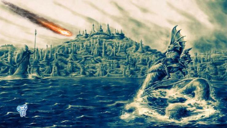 Καταστράφηκε η Ατλαντίδα από επίδραση του κομήτη Clovis πριν 12.800 χρόνια;   Βίντεο