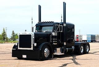 Peterbilt 379 Western Star Truck  Balck Dop Color Front