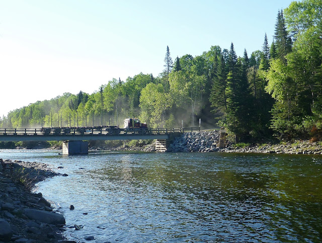 Baillargeon Bridge, York River, Gaspé