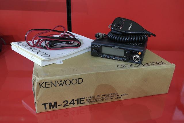 Kenwood TM-241A/E Mobil Radio