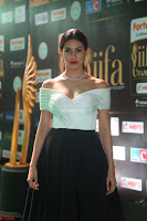 Amyra Dastur in White Deep neck Top and Black Skirt ~  Exclusive 011.JPG