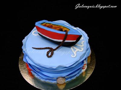 Barco de fondant