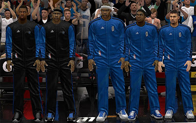 NBA 2K13 Orlando Magic Warmup Uniforms