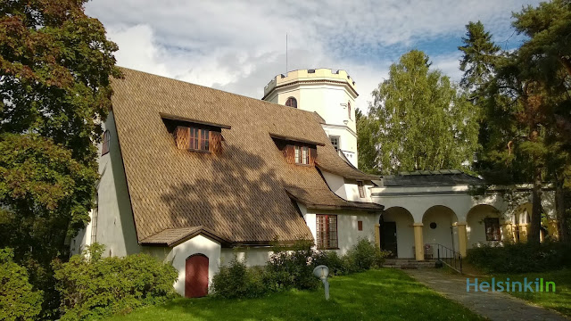 The Gallen-Kalela museum in Tarvaspää