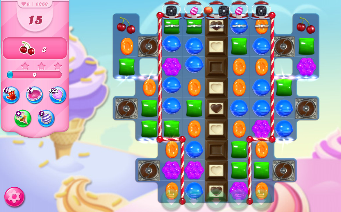 Candy Crush Saga level 5262