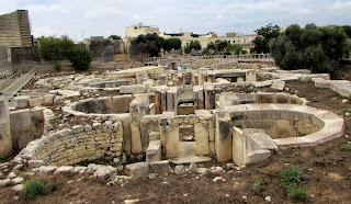 Malta. Malte. Il-Bet Valletta. La Valeta. Templos megalíticos. Tarxien