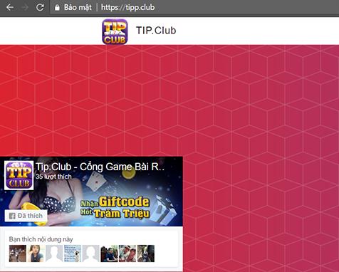 fanpage mã game bài tip club