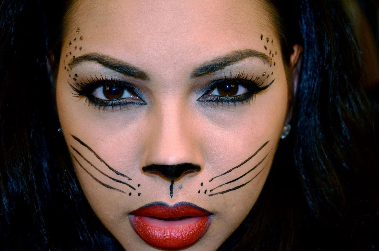 cat halloween makeup tumblr