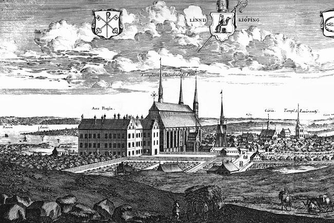 Erik Dahlbergh - View of Linköping (c.1700)