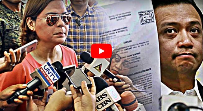 LOOK: Panakot Na Kaso Ni Trillanes, Di Tatalab Sa Tapang Ng Mga Duterte
