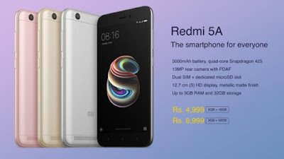 Redmi 5A Smartphone in Flipkart  - Trick to Buy