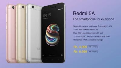 Redmi 5A Smartphone in Flipkart  - Trick to Buy