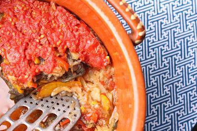 legumes cuits à l'olive grece