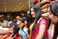 Actress Adah Sharma Launches Saree Niketan Showroom  0016.jpg