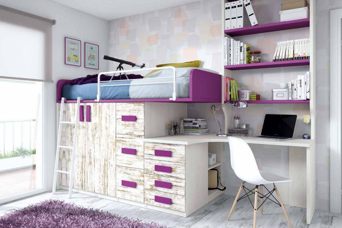 Blog dormitorios juveniles com octubre 2017 - Decoracion habitaciones pequenas juveniles ...