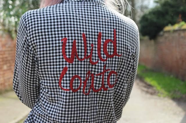 Pull and Bear Gingham Shirt