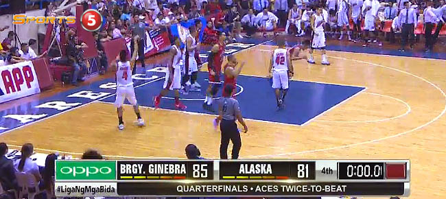 Ginebra def. Alaska, 85-81 (REPLAY VIDEO) February 5