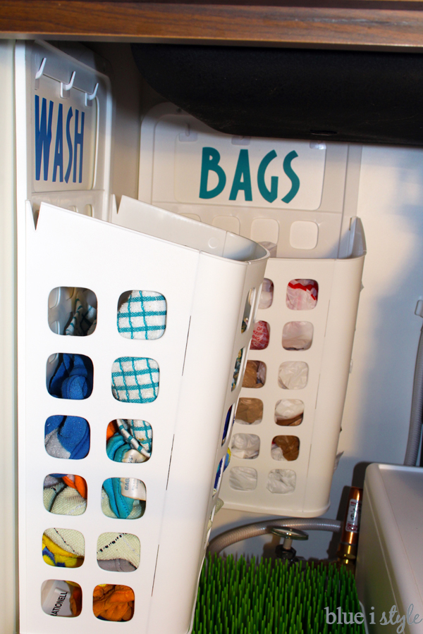 Bag and Kitchen Laundry Baskets