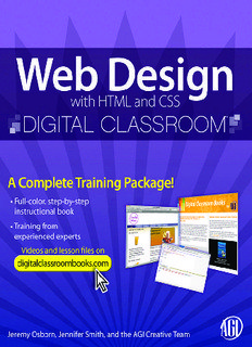 DOWNLOAD FREE EBOOK ON WEB DESIGN WITH HTML AND CSS