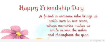 Friendship Day Sayings 2016