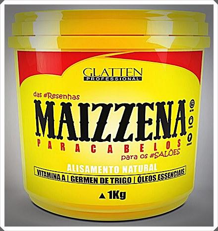 Maizzena para cabelos glatten