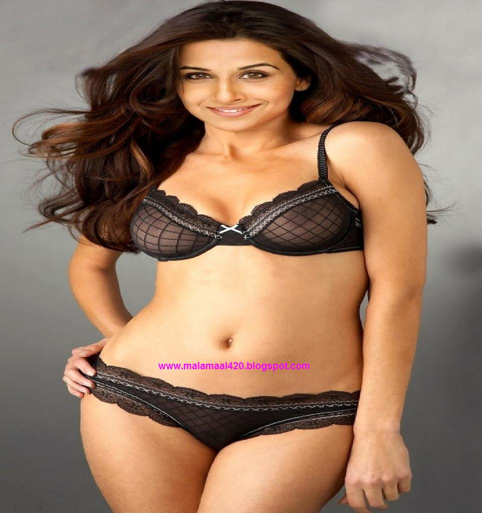 Vidya Balan Hot In Bikini  Blouse Hot Images, Vidya Balan -2131