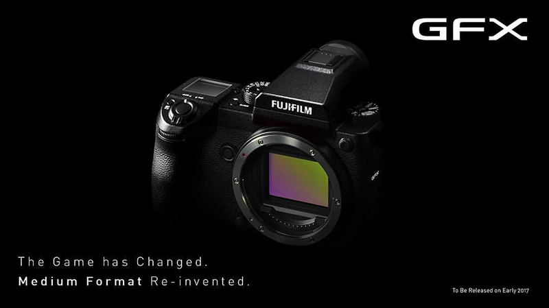Fujifilm GFX 50S With 51.4 MP Medium Format Sensor Announced!