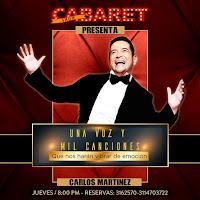 Concierto Una voz y mil canciones | CABARET SHOW