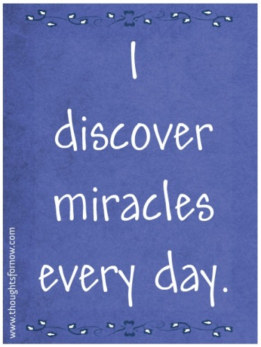 Daily Affirmations - 30 July 2013