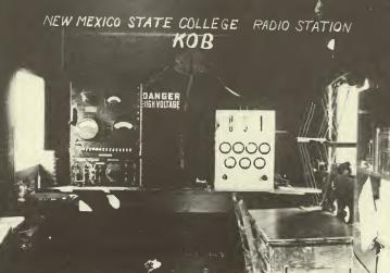 In 1922 kob am albuquerque new mexico began broadcasting
