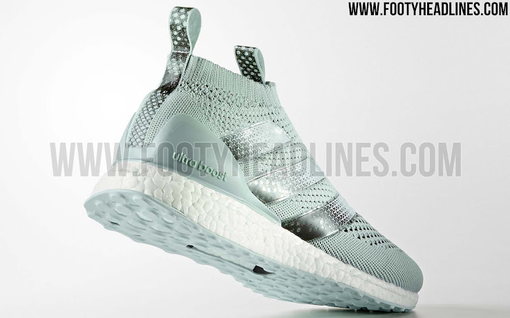 size 40 353a7 4cc0f Vapour Green Adidas Ace 16+ PureControl Ultra Boost Released - Leaked  Soccer Cleats