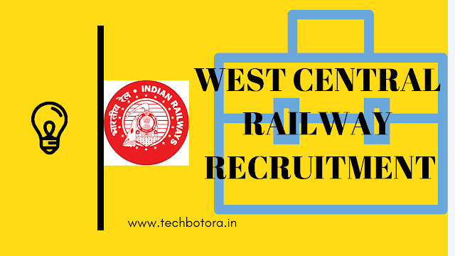 Recruitment in west central railway, Apply Online for 1600 Apprentice Posts in WCR, Bhopal, Madhya Pradesh on Apprenticeship. Online Applications are invited by West Central Railway from  01  Feb  2019  to  09  Feb  2019 for 1600 vacancies.