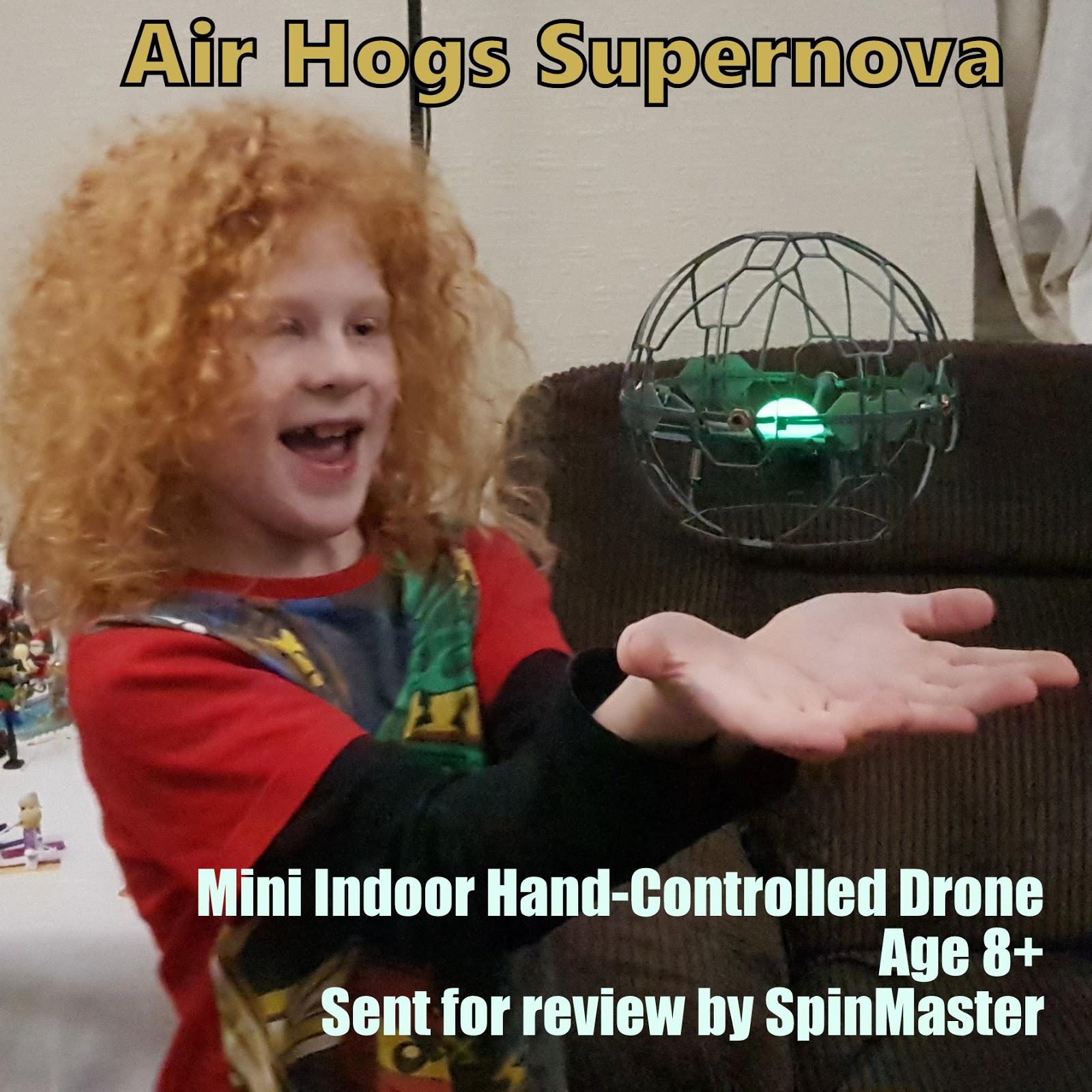 e0339e94e2eff The Brick Castle  Air Hogs Supernova Hand-Controlled Drone Review ...