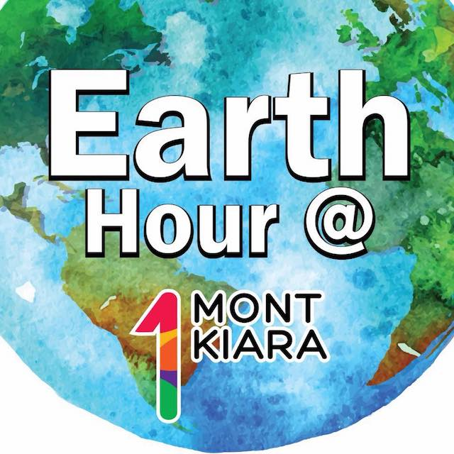 Now here's a cute graphic of our Earth, courtesy of 1Mont Kiara