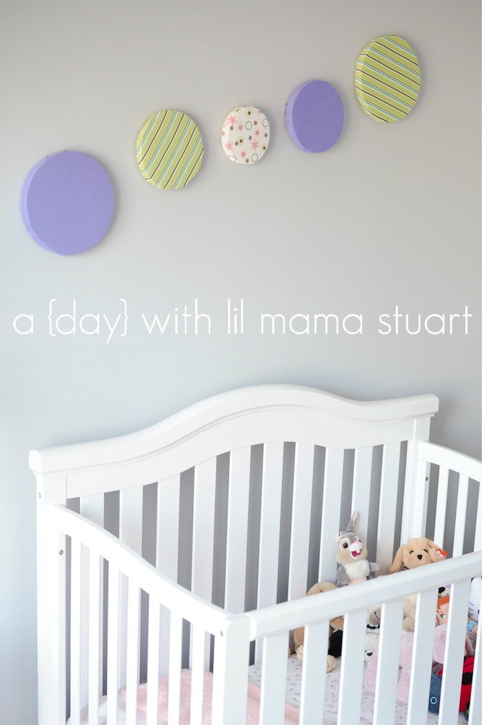 a {day} with lil mama stuart: Baby Girl's Nursery/Toddler ...