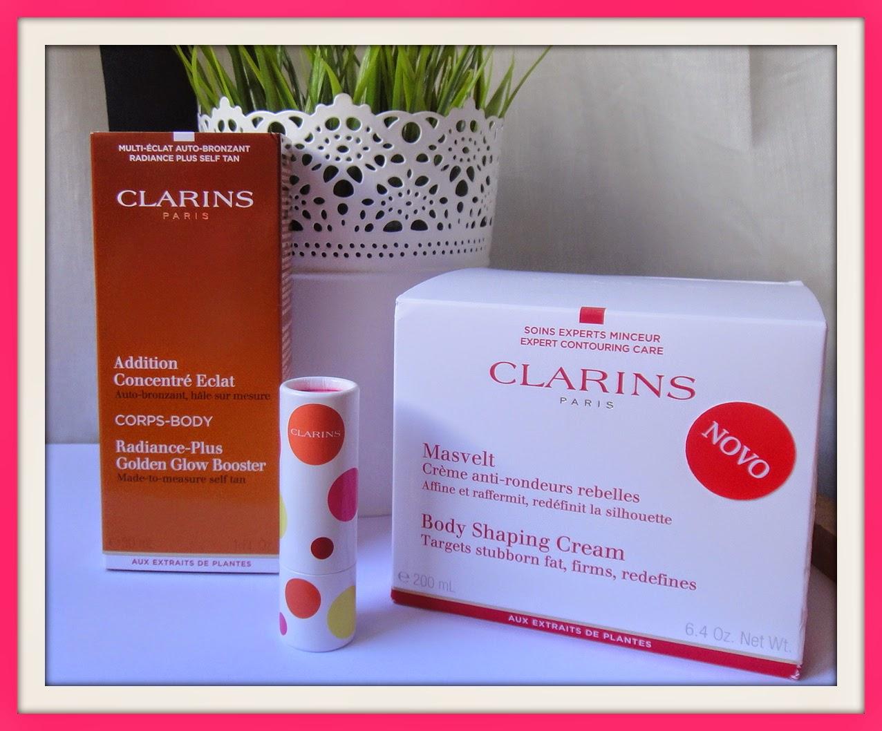 fa15c9c864096 A Clarins está sempre em constante inovação nos seus produtos e prova disso  são estas novidades fresquinhas e acabadinhas de chegar ao Must Be...Pink!