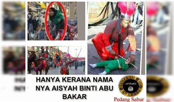 VIDEO: INNALILLAH.. Anak Ini Di Semb3lih, Hanya Karena Namanya Aisyah Binti Abu Bakar
