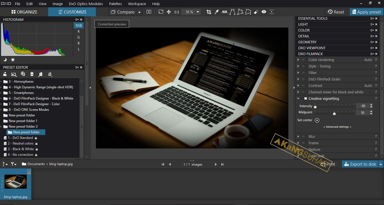 Download DxO Optics Pro 11.4.2 Build 12373 Elite Full Activation Key
