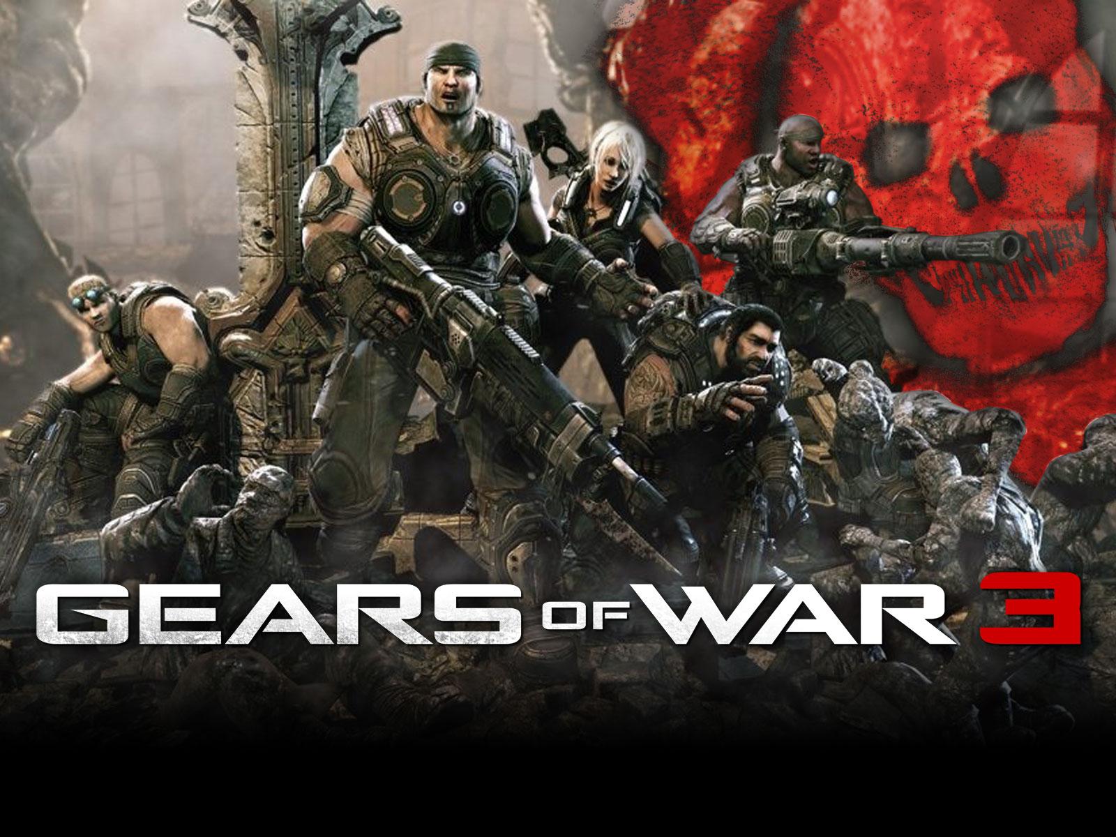 Gears Of Wars 3 Wallpaper: De Gamer Pra Gamer: Gears Of War 3 Beta Multiplayer