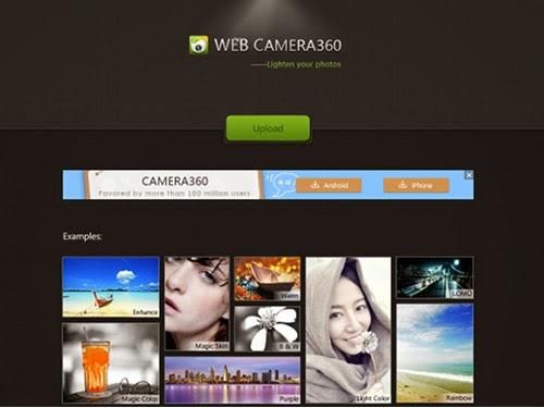 Edit Foto Dengan Camera360 Online