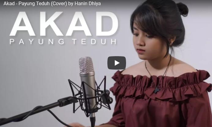 Video Musik Akad - Payung Teduh (Cover) by Hanin Dhiya