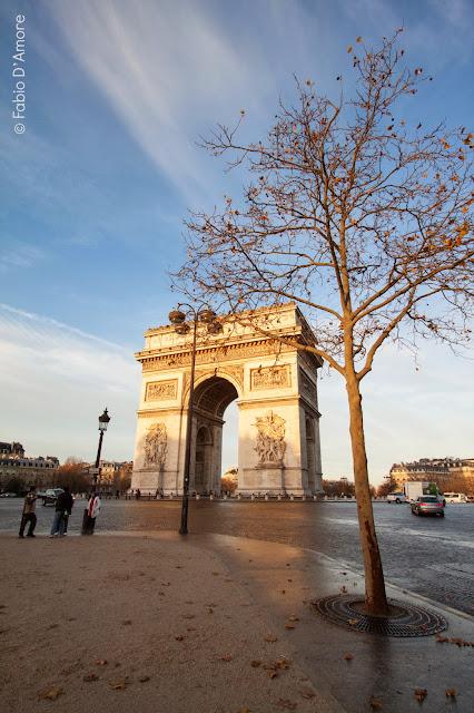 Arco di trionfo-Parigi