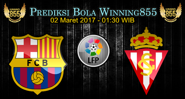 Prediksi Skor Barcelona vs Sporting Gijon