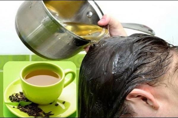 Fazer o Cabelo Crescer com Chá Verde