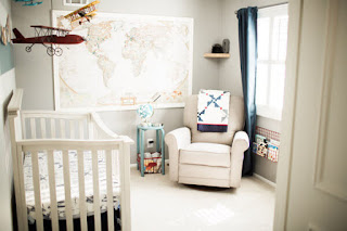 Travel Spirit Baby Boy Bedroom Decor