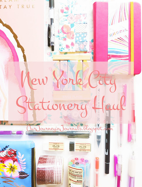New York City stationery haul