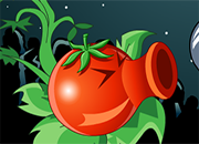 Red Peashooter Vs Zombies juego