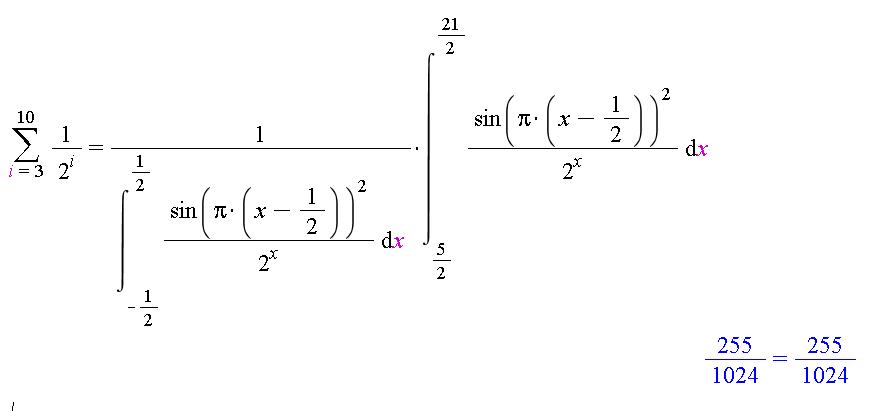 relationship between integral and riemann sum